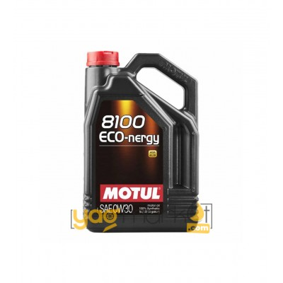 Motul 8100 Eco Nergy 0w-30 - 5 L